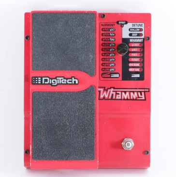 Digitech Whammy 4 Pitch Shifter Guitar Effects Pedal P-10126