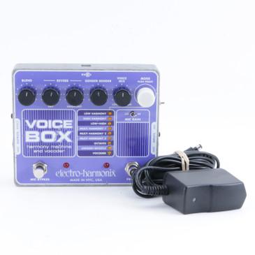Electro-Harmonix Voice Box Vocal Multi-Effects Pedal & PSA P-10164