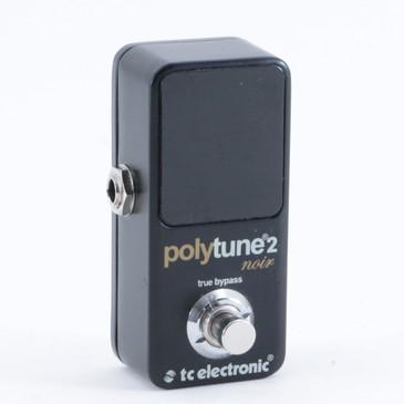 TC Electronic Polytune 2 Noir Guitar Effects Pedal P-10175