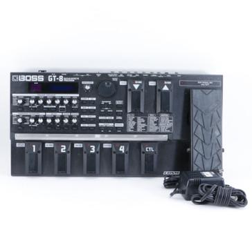 Boss GT-8 Guitar Multi-Effects Pedal & PSA P-10209
