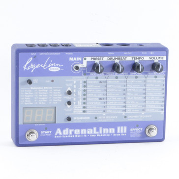 Roger Linn Adrenalinn III Guitar Multi-Effects Pedal P-10210