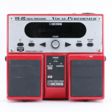 Boss VE-20 Vocal Performer Vocal Multi-Effects Pedal P-10214