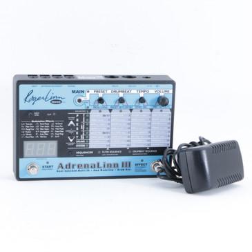 Roger Linn Adrenalinn III Guitar Multi-Effects Pedal & PSA P-10211