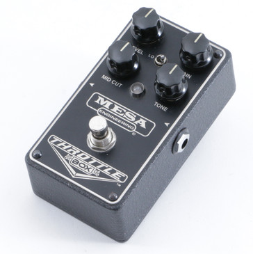 Mesa Throttle Box Distortion Guitar Effects Pedal P-10266