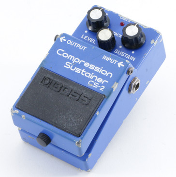 Boss Japan CS-2 Compression Sustainer Guitar Effects Pedal P-10265