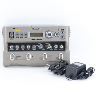 Line 6 JM4 Looper Looper Guitar Multi-Effects Pedal w/ PSA P-10284