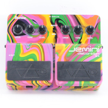 Ibanez Jemini Distortion Guitar Effects Pedal P-10278