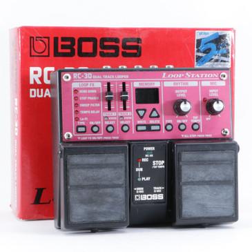 Boss RC-30 Loop Station Looper Guitar Effects Pedal P-10299