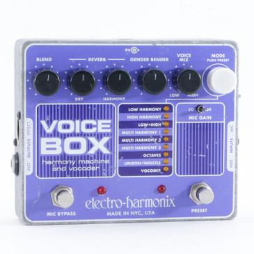 Electro-Harmonix Voice Box Vocal Multi-Effects Pedal P-10291