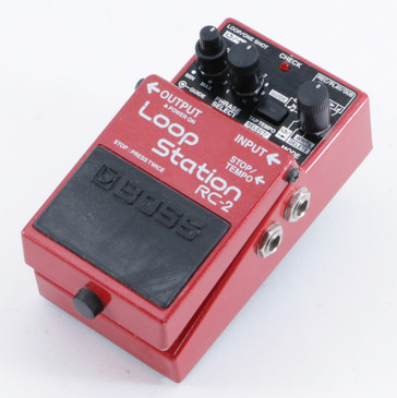 Boss RC-2 Loop Station Looper Guitar Effects Pedal P-10305