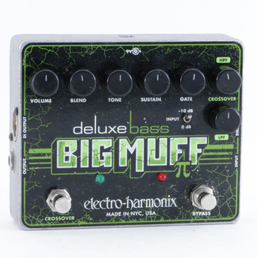 Electro-Harmonix Deluxe Bass Big Muff Pi Fuzz Bass Effects Pedal P-10332