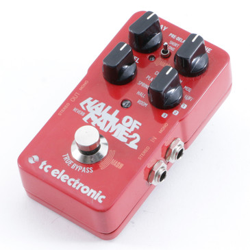TC Electronic Hall of Fame 2 Reverb Guitar Effects Pedal P-10350