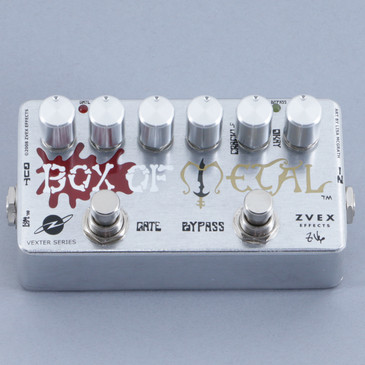 Zvex Box Of Metal Vexter Distortion Guitar Effects Pedal P-10386