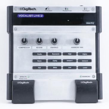 Digitech Vocalist Live 2 Vocal Multi-Effects Pedal P-10414