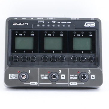 Zoom G3 Guitar Multi-Effects Pedal P-10412