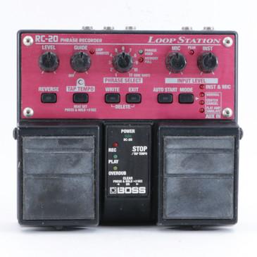 Boss RC-20 Loop Station Looper Guitar Effects Pedal P-10411