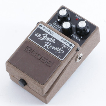 Boss FRV-1 '63 Fender Reverb Guitar Effects Pedal P-10393