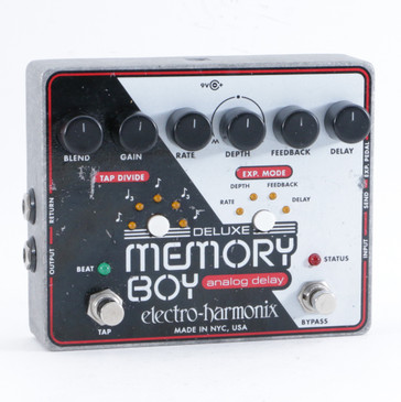 Electro-Harmonix Deluxe Memory Boy Delay Guitar Effects Pedal P-10427