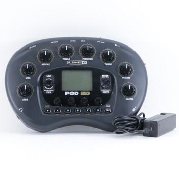Line 6 Pod HD  Guitar Multi-Effects Unit & Power Supply P-10440