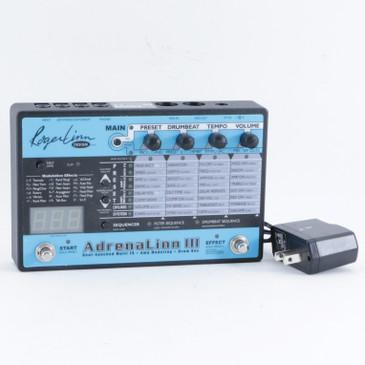Roger Linn AdrenaLinn 3  Drum Looper & Guitar Effects Pedal w/ PSA P-10439