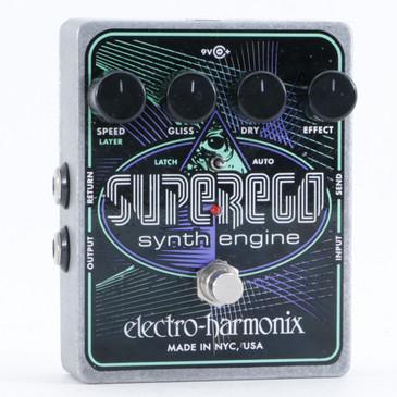 Electro-Harmonix SuperEgo Synthesizer Guitar Effects Pedal P-10437