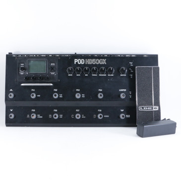 Line 6 Pod HD500X Guitar Multi-Effects Pedal & Power Supply P-10434