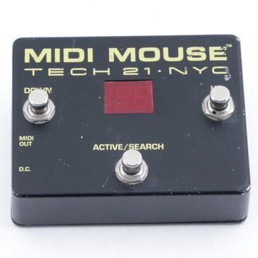 Tech 21 Midi Mouse Midi Controller Guitar Effects Pedal P-10450