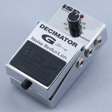 iSP Decimator G String Noise Gate Guitar Effects Pedal P-10461