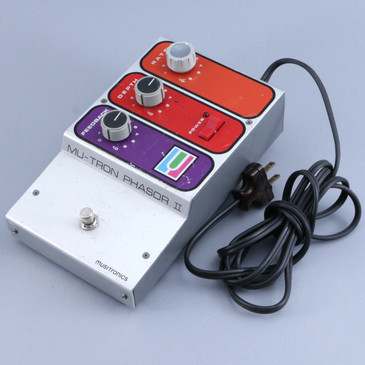Musitronics Mu-Tron Phasor II Phaser Guitar Effects Pedal P-10449