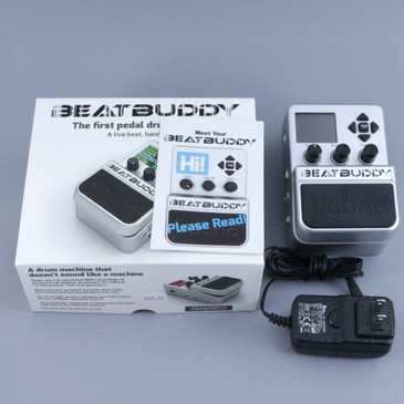 Singular Sound Beat Buddy Drum Machine Pedal & Power Supply P-10447