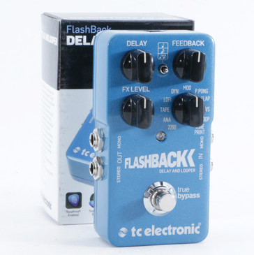 TC Electronic Flashback Delay Guitar Effects Pedal P-10480