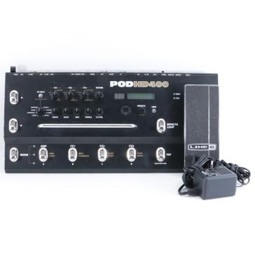 Line 6 Pod HD400 Guitar Multi-Effects Pedal & PSA P-10510