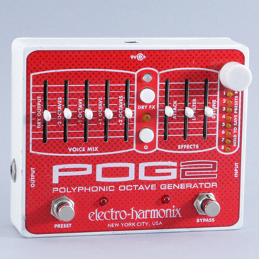 Electro-Harmonix POG2 Octave Guitar Effects Pedal P-10504