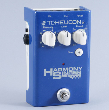 TC Helicon Harmony Singer Vocal Multi-Effects Pedal P-10503