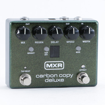 MXR Carbon Copy Deluxe Delay Guitar Effects Pedal P-10523