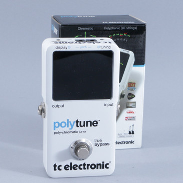 TC Electronic Polytune Chromatic Tuner Guitar Effects Pedal P-10520