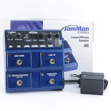 Digitech JamMan Stereo Looper Guitar Effects Pedal w/ PSA P-10529
