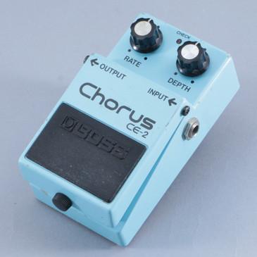 1986 Boss Japan CE-2 Chorus Guitar Effects Pedal P-10514