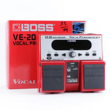 Boss VE-20 Vocal Processor Vocal Multi-Effects Pedal P-10527