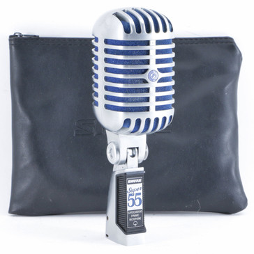 Shure Super 55 Dynamic Supercardioid Microphone MC-4259