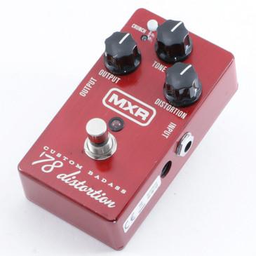 MXR 78 Distortion M78 Guitar Effects Pedal P-10533