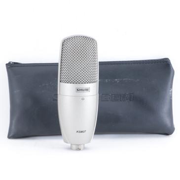 Shure KSM27 Condenser Cardioid Microphone MC-4257