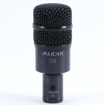 Audix D2 Dynamic Hypercardioid Microphone MC-4256