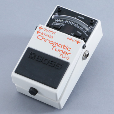 Boss TU-3 Chromatic Tuner Guitar Effects Pedal P-10546