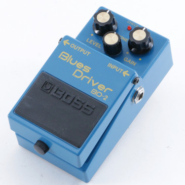 Boss BD-2 Blues Driver Overdrive Guitar Effects Pedal P-10542