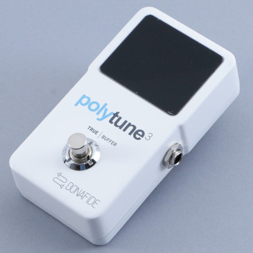 TC Electronic Polytune 3 Chromatic Tuner Guitar Effects Pedal P-10572