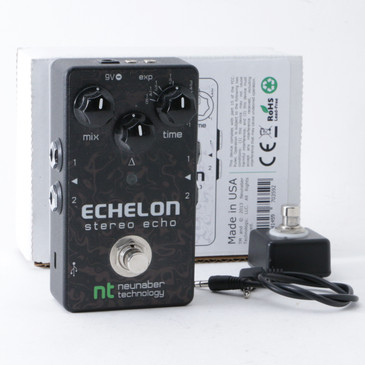 Neunaber Echelon Stereo Echo Delay Guitar Effects Pedal P-10586