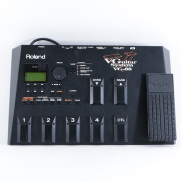 Roland VG-88 V-Guitar System Guitar Multi-Effects Pedal & PSA P-10656