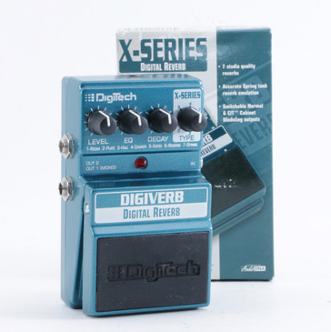 Digitech Digiverb Reverb Guitar Effects Pedal P-10733