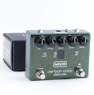 MXR M292 Carbon Copy Deluxe Delay Guitar Effects Pedal w/ Box P-10747